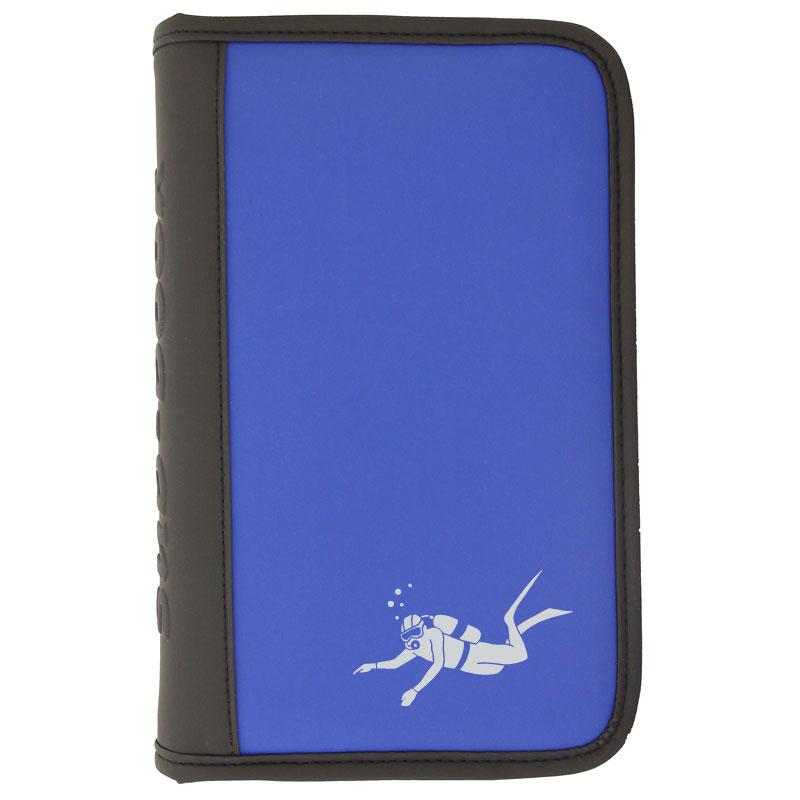 sub-book Logbuch blau,  mit 6-fach Lochung, Taucher, ohne Innenteil