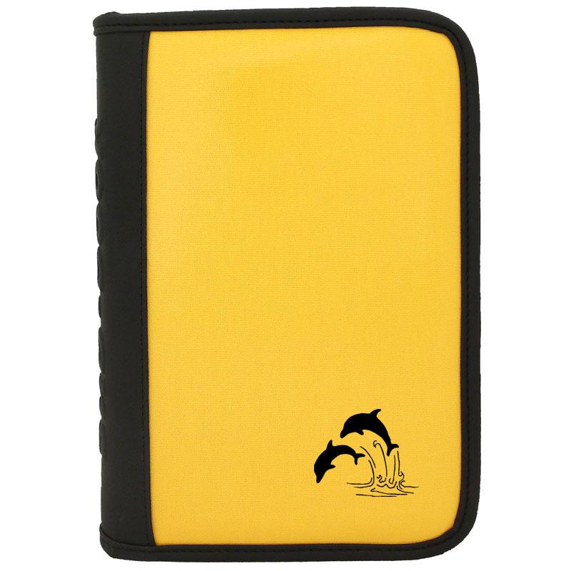 sub-book gelb, Delfine, ohne Innenteil