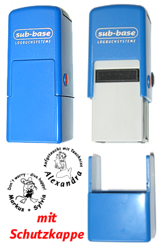 Automatikstempel ø 20 mm