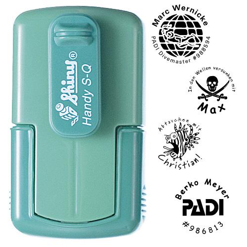 smart-stamp, spring-green, ø 24 mm