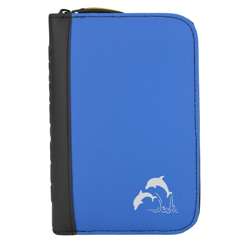 TRAVEL sub-book, blau, Delfine, ohne Innenteil