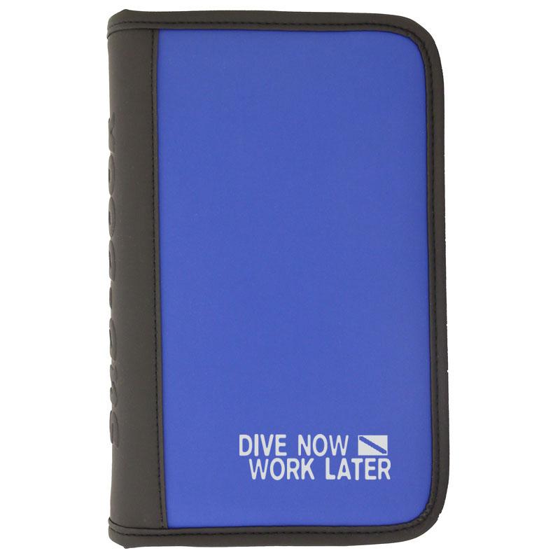 sub-book blau, Dive now - work later, mit Innenteil