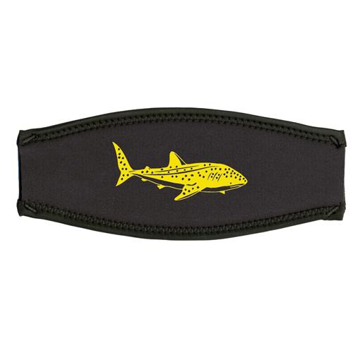 Maskenband, Walhai, gelb