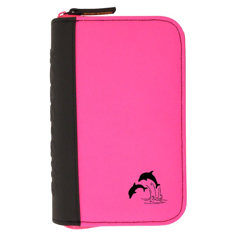 TRAVEL sub-book, pink, Delfine, mit Innenteil