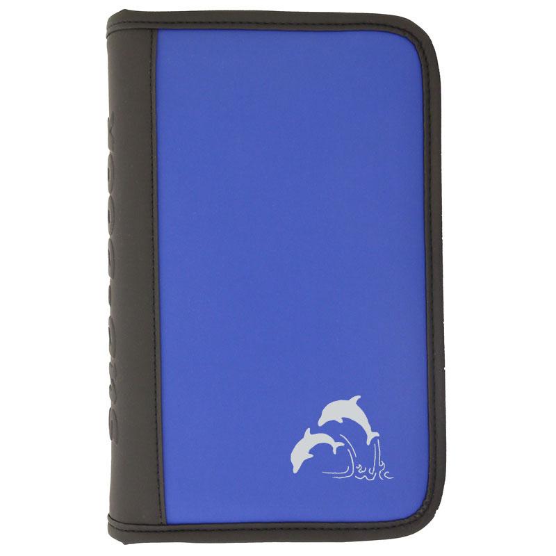 sub-book blau, Delfine, ohne Innenteil