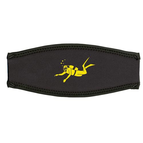 Maskenband, Taucher, gelb