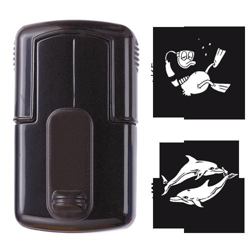 smart-stamp, schwarz, ø 17 mm