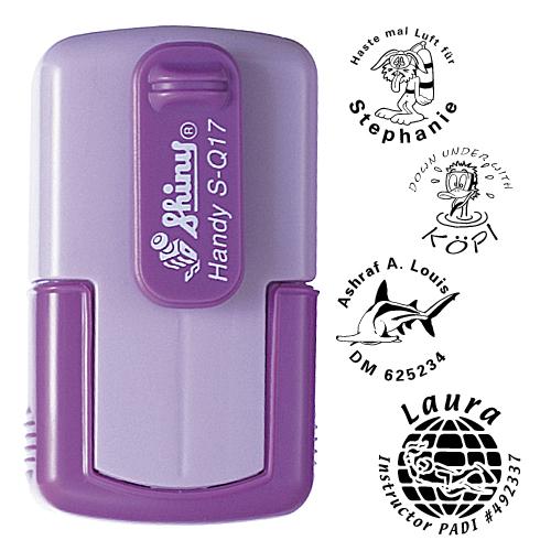 smart-stamp, lavendel, ø 17 mm