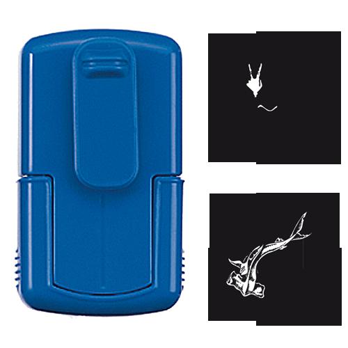 smart-stamp, blau, ø 24 mm